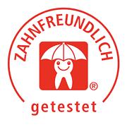 Logo zahnfreundlich getestet