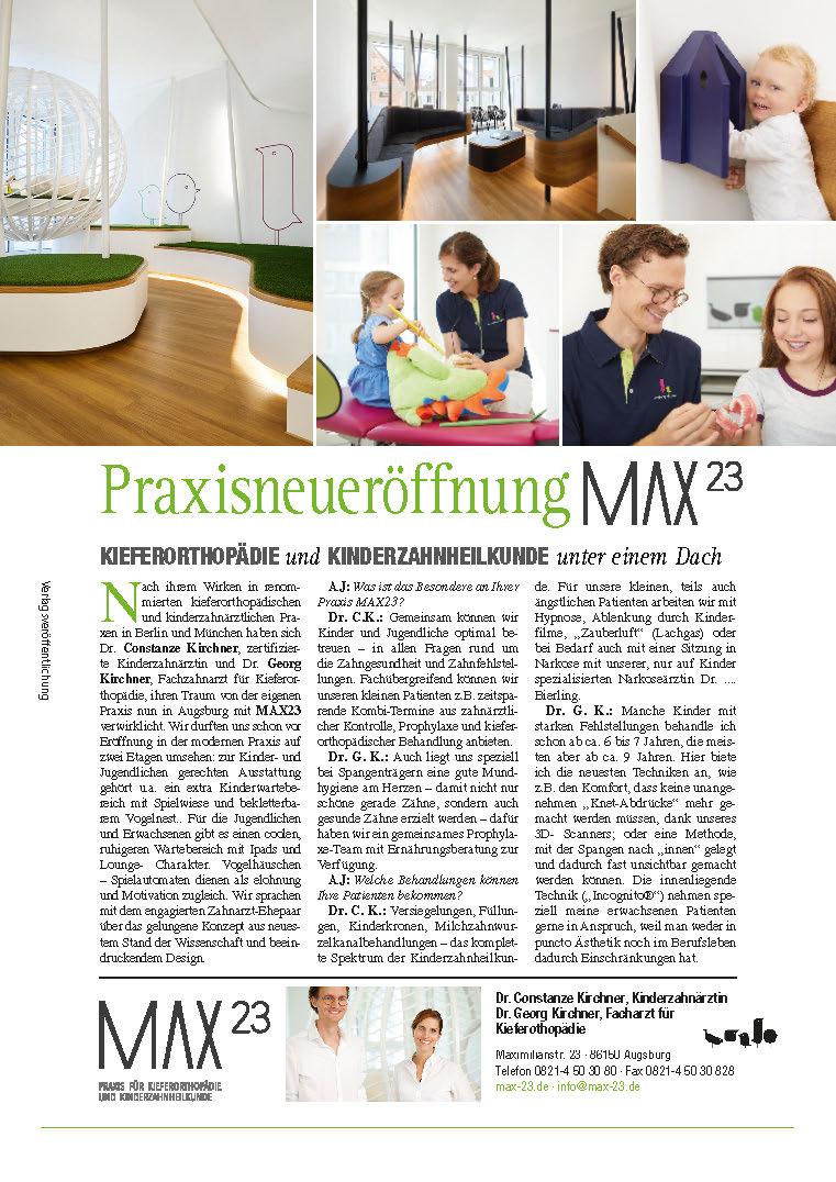 Max23 im Augsburg Journal